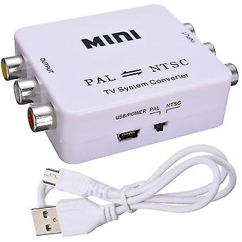 Kvm switches mini pal ntsc bi-direction tv system converter switcher pal to ntsc ntsc to pal dual-way tv