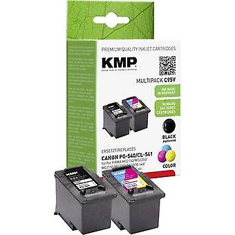 Tinta KMP sustituye Canon PG-540, 541 CL Compatible conjunto negro, ciánico, Magenta, amarillo C95V 1516,4850