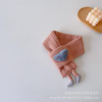 Lovely Cloud Feet Children's Knitted Neck Scarf