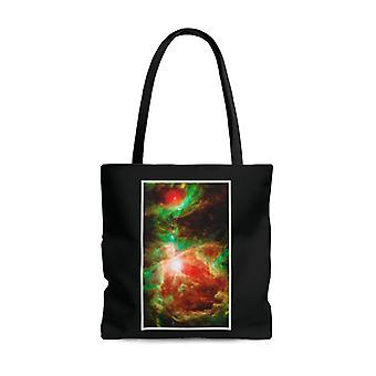 Premium polyester tote bag - galaxy image #104 active stellar nursery | graphic tote bag, aesthetic tote, birthday gift idea, gift for her