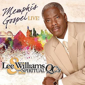 Williams, Lee / Spiritual Qc's - Memphis Gospel Live [CD] USA import