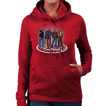 The Hunting Party Ash Vs Evil Dead Supernatural Mashup Women's Hooded Sweatshirt