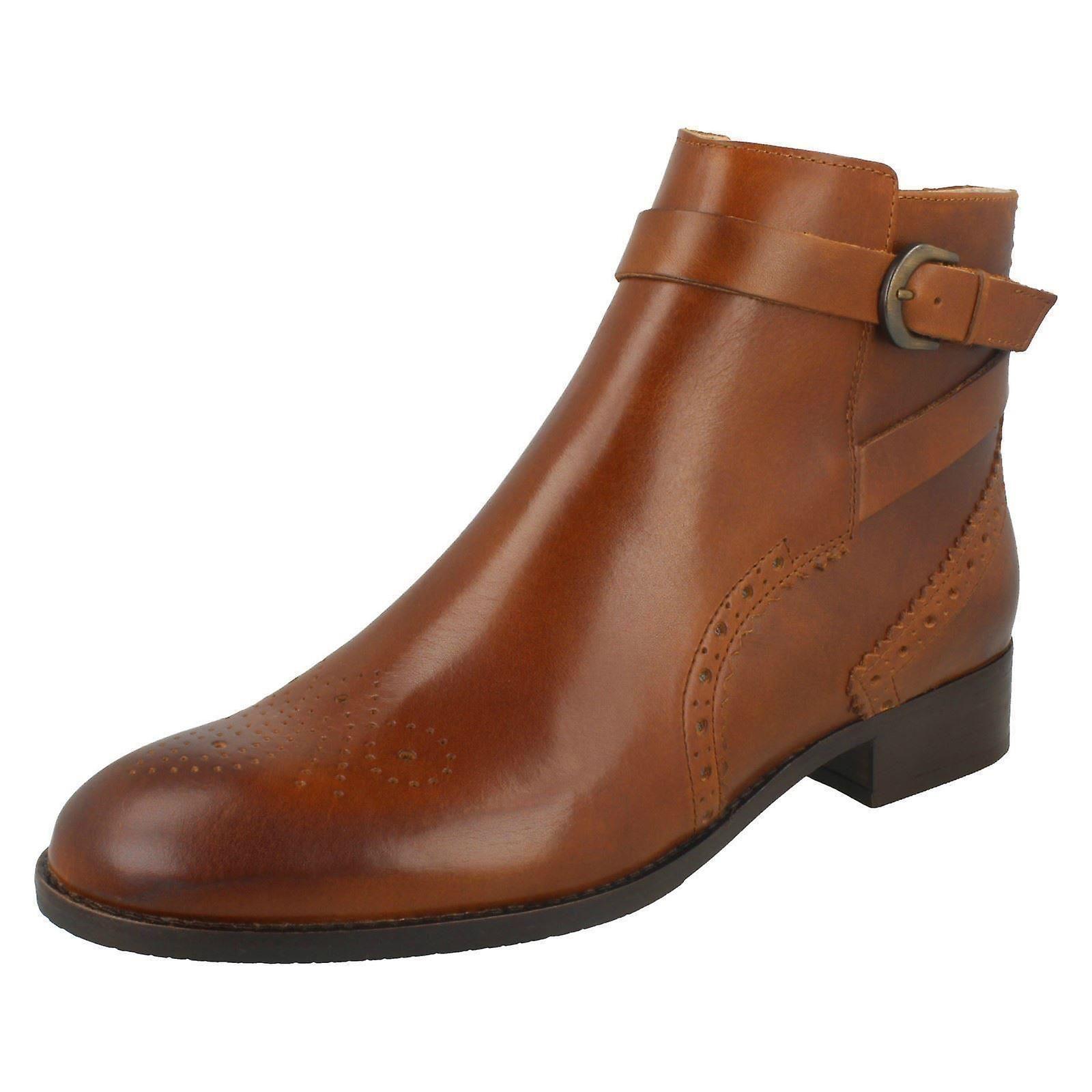Clarks damskie Smart kostkę buty Netley Olivia lxWAU