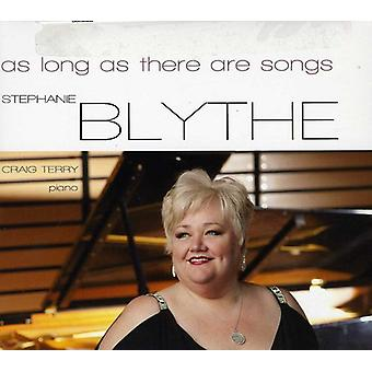 Blythe/Terry - As Long as There Are Songs [CD] USA import