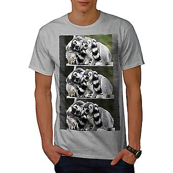 Lepricaun Natur Männer graut-Hemd | Wellcoda
