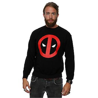 Marvel Men's Deadpool Clean Logo Sweatshirt