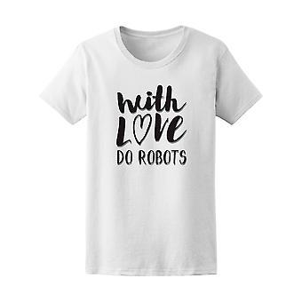 Con amor hacer Robots t gráfica - imagen de Shutterstock