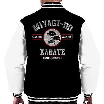 Miyagi czy Karate Kid wosk na wosk Off mężczyzn uniwerek kurtka