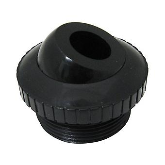 "Custom 25552-304-000 0.75"" Threaded Directional Flow Outlet - BLK"