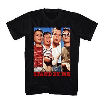Stand By Me Cast Panels Men's Black T-shirt