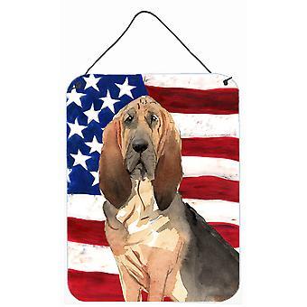 طباعة الوطني الولايات المتحدة الأمريكية الكلب البوليسي الجدار أو الباب معلقة