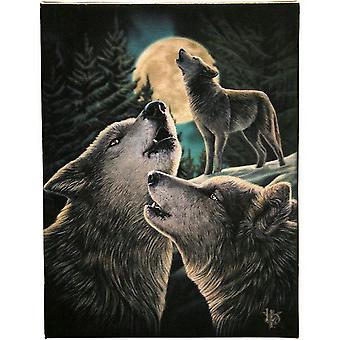 Lisa Parker Wolf lied Canvas