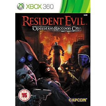 Resident Evil Operation Raccoon City (Xbox 360) - New
