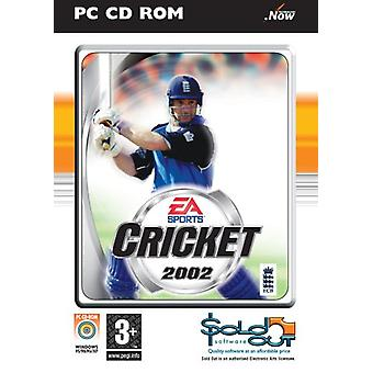 Cricket 2002 (PC CD)-ny