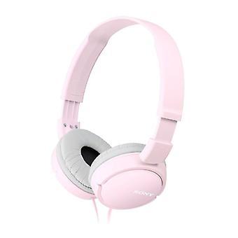 سوني سماعات ستيريو صوت قوي-الوردي (النموذج رقم. MDRZX110P)