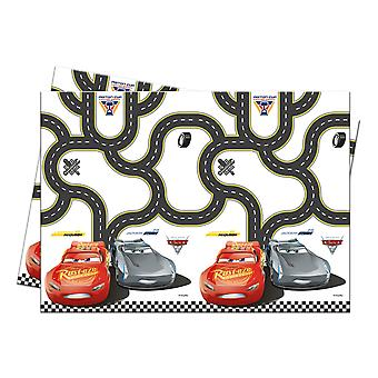 Table cloth tablecloth tablecloth cars 3 kids party birthday 120x180cm