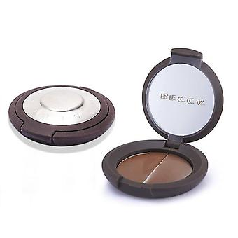 Becca Compact Concealer Medium & Extra Cover Duo Pack - # Walnut - 2x3g/0.07oz