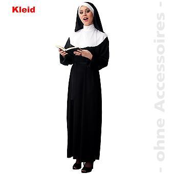 Hermana religiosa de traje de monja monja de Monasterio de la mujer traje de las mujeres
