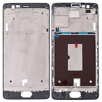 Huisvesting frame middelste frame cover compatibel voor OnePlus 3 / 3 T zwart
