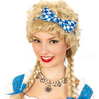 Accessori per capelli cerchio ciclo blu bianco di Oktoberfest bavarese Festival della birra Oktoberfest