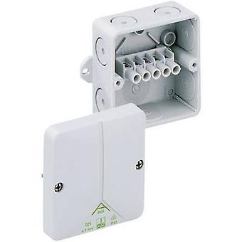 ה80540701 בקופסא המשותפת (L x W x H) 93 x 93 x 55 mm אפור IP65