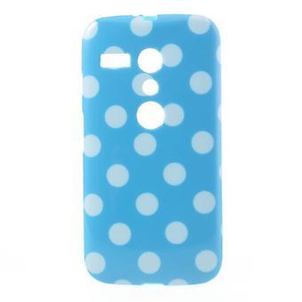 मोटोरोला फोन मोटो G DVX XT1032 हल्के नीले रंग के लिए सुरक्षात्मक मामले