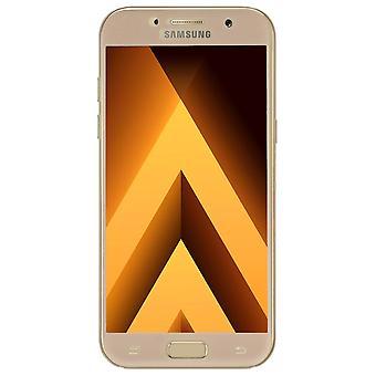 Samsung Galaxy A3 2016 3D blindado vidro folha visor H 9 película protetora cobre ouro caso