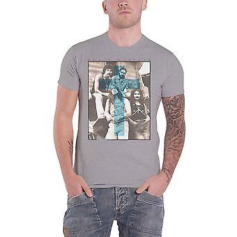 Negru Sabatul tricou Blue Cross grup shot trupa logo-ul New oficial Mens Grey