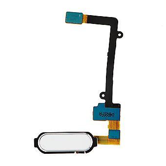 Bianco Samsung Galaxy Nota Edge Home pulsante Flex Cable