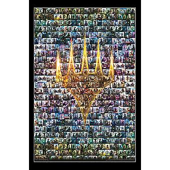 Magic The Gathering - Collage affisch Skriv