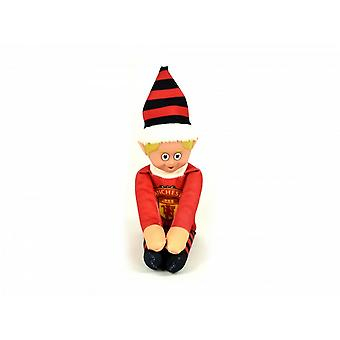 Manchester United FC Official Football Christmas Team Elf