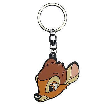 Bambi key ring Bambi key ring, silver, metal.