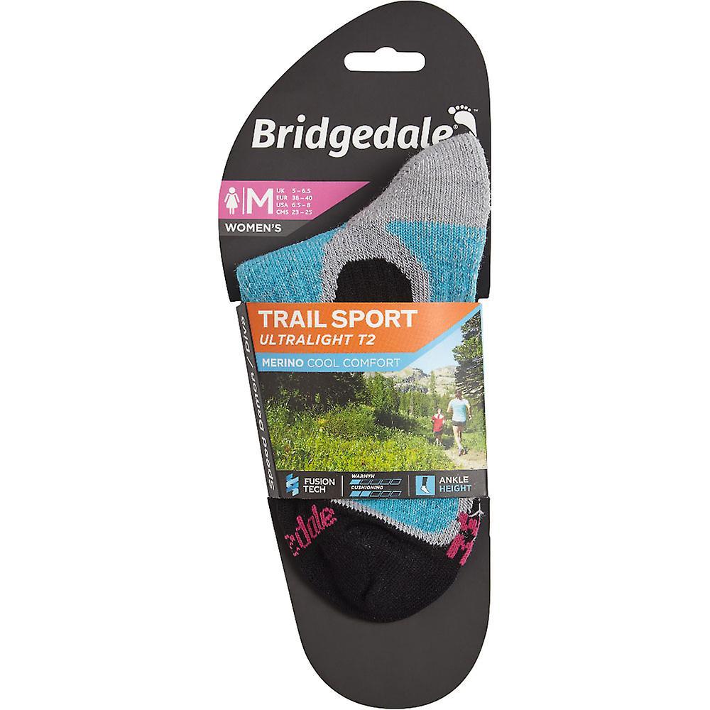 Bridgedale Womens Trail Sport Ultra Light Merino Cool Socks