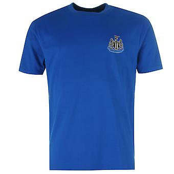 NUFC Mens Small Crest Tee Short Sleeves T Shirt Top Crew Neck