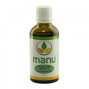 Manuka and Tea Tree Oil Blend - Natural Essential Oils - Specially formulated manuka and essential oil blend Oil for Warts and HPV Virus