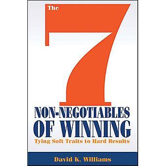 De 7 niet-Negotiables van winnen - koppelverkoop zachte Traits naar harde resultaten b