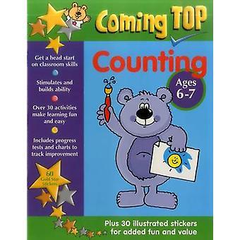 Top à venir - comptage - Ages 6-7-60 autocollants étoiles or - Plus 30 Illu