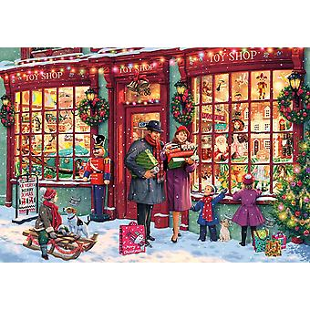 Gibsons Christmas Toy Shop Jigsaw Puzzle (2000 pieces)