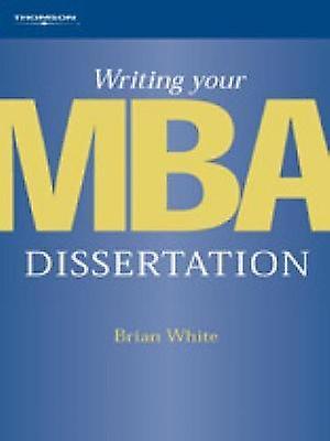 Brian white dissertation