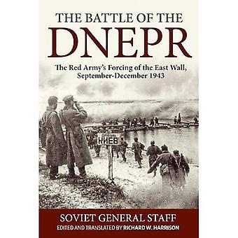 Slaget vid Dnepr: röda armén tvingade av den östra väggen, September-December 1943