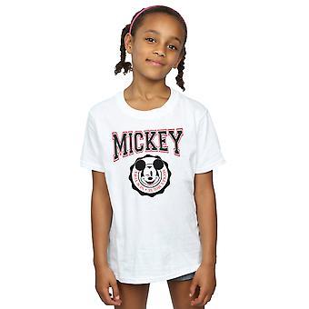 Disney Girls Mickey Mouse New York Seal T-Shirt