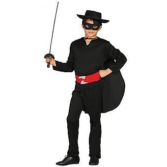 Los niños bandidos Zorro disfraz