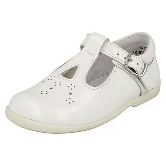 Meisjes Startrite uitgesneden gedetailleerde T-Bar schoenen Swirl