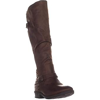 Bare Traps Womens Yanessa Closed Toe Knee High Fashion Boots