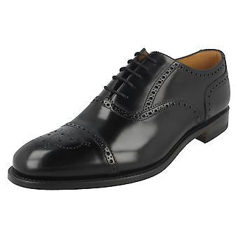 Mens Loake Formal Brogue sapatos 201B