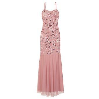 Little Mistress Womens/Ladies Fishtail Strappy Maxi Dress