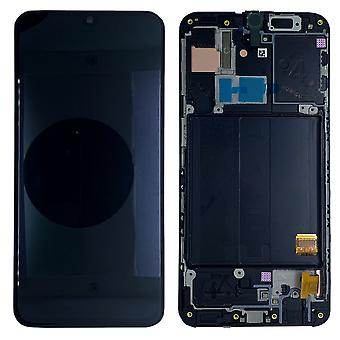 Samsung display LCD complete unit voor Galaxy A40 A405F GH82-19672A zwart