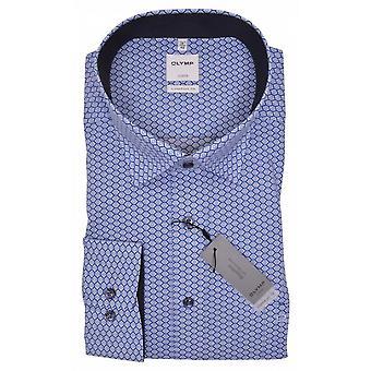 OLYMP Olymp Fashion Print Long Sleeve Shirt