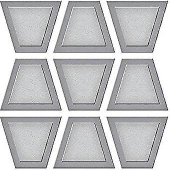 スペルバインダー台形ダンスキルトエッチドダイD-Lites (S2-275)