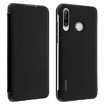 Huawei P30 Pro Case Cover Speicherkarten Integral Protection - Schwarz